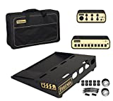 Friedman Amplification Tour Pro 1520 Platinum Pack 15'' x 20'' Pedal Board with Riser, Professional Carrying Bag, Power Grid 10 & Buffer Bay 6
