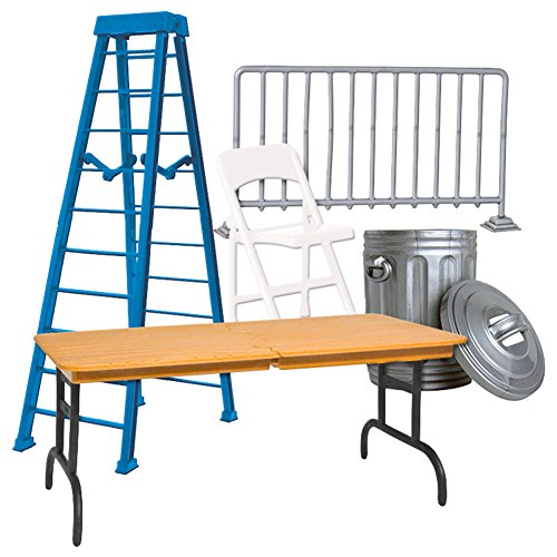 Set of 5 Wrestling Props Accessories For WWE Wrestling Action Figures (Wwe Table Ladders And Chairs)