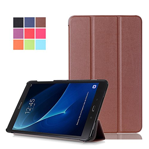 Tab A 10.1 Case, WITCASE Ultra-Slim and Ultra-light PU Leather Folio Case...