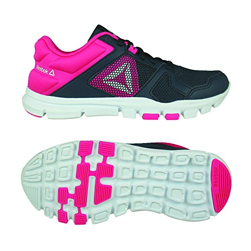 white De Navy 000 twisted Multicolore Pink Femme Train Reebok Chaussures Fitness Yourflex 10 collegiate Ac4qIawZz7