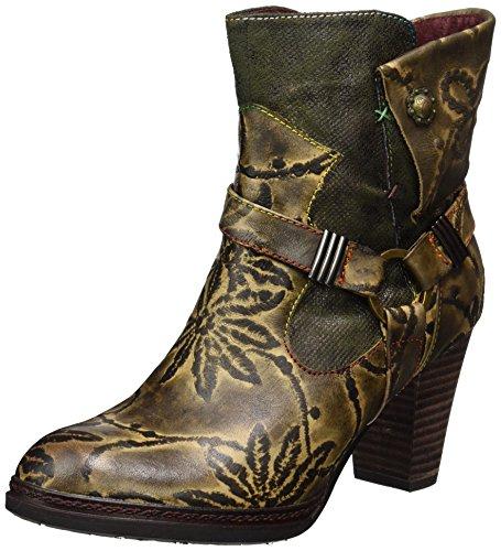 Laura Vita Angie 16 Stivali Donna Grau kaki