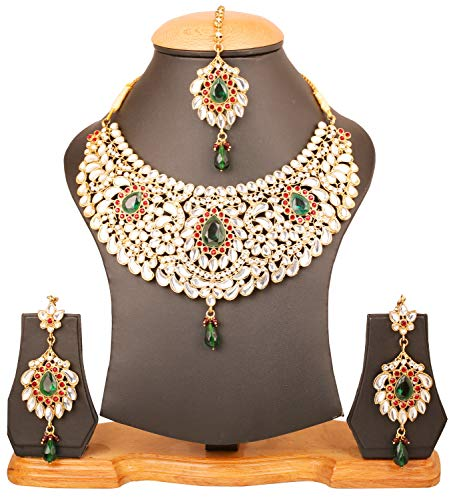 Buy indian antique necklace sets for women