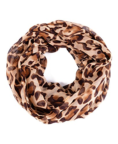 Luxina Infinity Scarf Multi colored Ligthweight