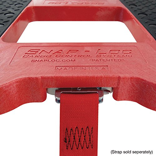 SNAP-LOC DOLLY RED (USA!) with 1,500 lb. capacity, steel frame, strap option, 4 inch casters by Snap-Loc (Image #2)