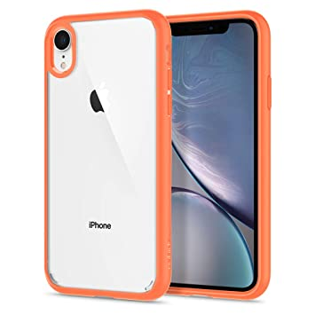 coque iphone xr corail silicone