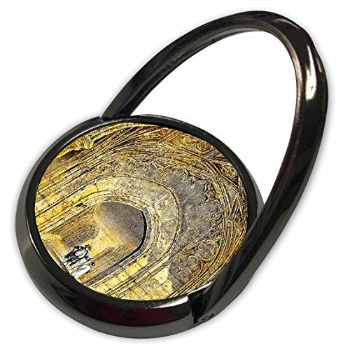 (3dRose Scenes from The Past Magic Lantern - Victorian Era Magic Lantern Slide Windsor Castle The Cloisters Vintage - Phone Ring (phr_246139_1))