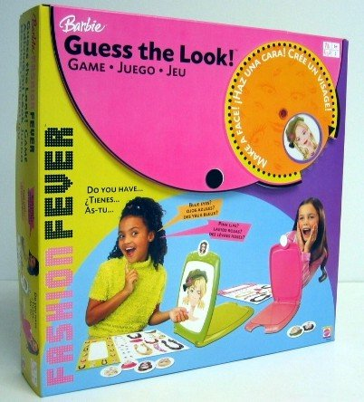 Barbie Guess the Look Makeover Game