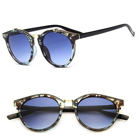 Yangjing-hl Remaches Vintage Gafas de Sol Feminino Classic ...