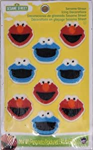 Sesame Street Icing Decorations by Wilton