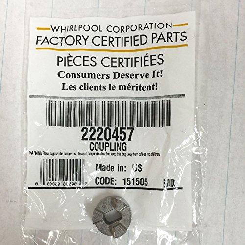 Price comparison product image 2220457 Genuine OEM Whirlpool Refrigerator Ice Auger Bin Coupling Coupler