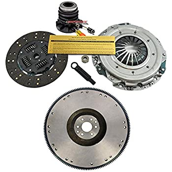 EFT PREMIUM HD CLUTCH KIT w/ SLAVE w/ FLYWHEEL 1997-08 FORD F150 F-150 4.2L 6CYL