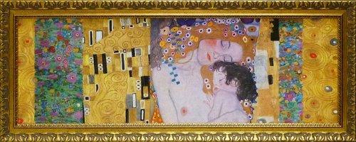 《名画》クリムト デコパネル コレクション 人生の三段階/絵画 壁掛け のあゆわら B00KM856O0