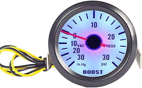 ESUPPORT Car 2 52mm Digital Volt Voltage Gauge Blue LED