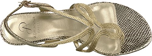 Adrianna Papell Womens Cannes Platino Metallic Rope DNDSKvzx