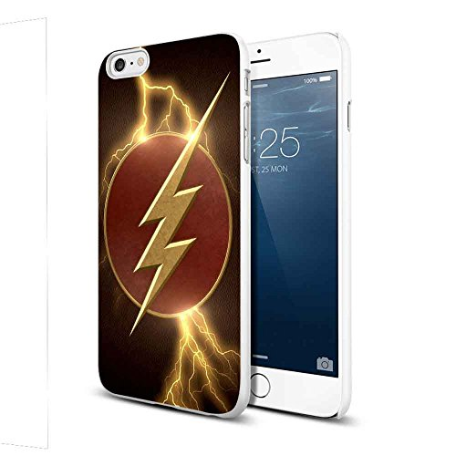 The Flash super hero Wallpaper For iPhone 6 Plus/6s Plus White Case ()