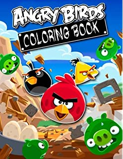 Angry Birds Coloring Book Great 27 Illustrations For Kids