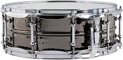 Ludwig Beauty Black Snare - Ludwig Black Beauty Snare Drum - 5