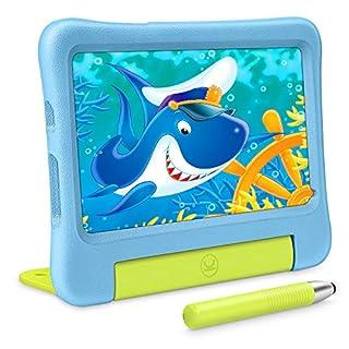 VANKYO MatrixPad S7 Kids Tablets, 2GB RAM 32GB ROM, Kidoz Pre Installed, 7 inch IPS HD Display, Android OS, WiFi, Kid-Proof, w/Stylus, Blue