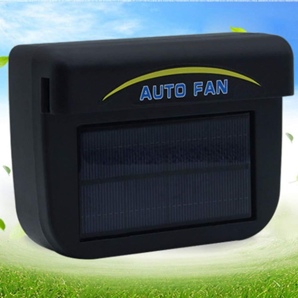XZANTE Solar Betriebene Auto Fenster Windschutzscheibe Auto Lueftungs Kuehlung Luefter Auto Ventilator Kuehler System Auto Vent
