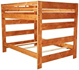 Coaster Home Furnishings Wrangle Hill Modern Rustic Bunk Bed (Made in USA) - Full over Full - Amber Wash