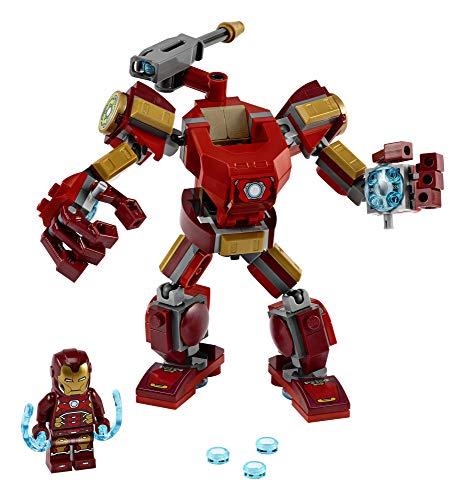 LEGO Marvel Avengers Iron Man Mech 76140 Kids Superhero Mech Figure, Building Toy with Iron Man Mech and Minifigure, New 2020 (148 Pieces)