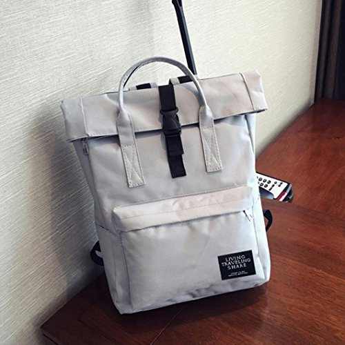 Bag Large Fashion Laptop Cheap Bag Nylon Gray Student Logobeing Women Hand Bag OxS6wFF0