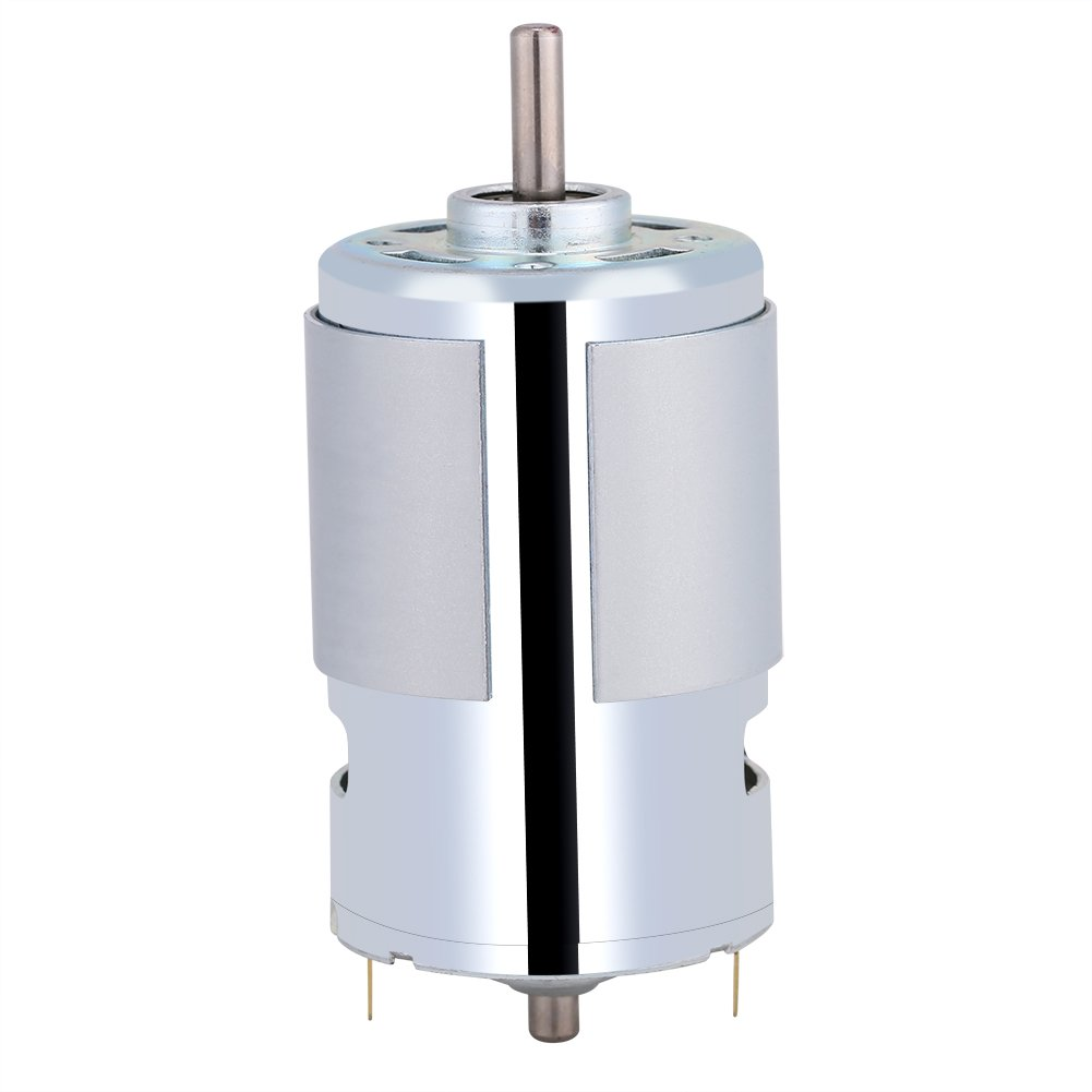 Micro 12V DC Motor,Acogedor 12V 100W Round Shaft Mini Electric Motor,12000r/min High Speed Large Torque,for Car Washing Pump, Sprayer, Elctric Fan, Electric Toys, Juice Machine, Vacuum Cleaner