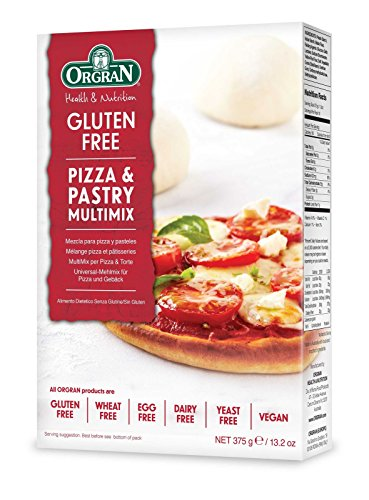 Fat Free Pizza Crust (OrgraN Pizza and Pastry Multimix, 13.2-Ounce Boxes (Pack of 8))