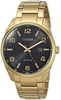 Citizen Men's 'Eco-drive' Quartz Stainless Steel Casual Watch, Color:gold-toned (Model: Bm7322-57e) 0
