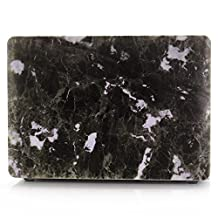 """Macbook Pro 13 Inch Hard Cover Case,Bestcatgift Ultrathin Matte Soft Rubber Coating Smooth Hard Case Shell Cover For Macbook Pro 13"""" with CD/DVD drive.(Model:A1278).-[Black Marble]"""
