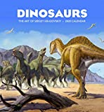 Dinosaurs: The Art of Sergey Krasovskiy 2020 Wall Calendar
