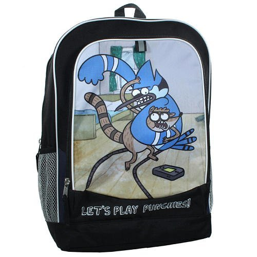 Regular Show 16 Backpack by Accessory Innovations by Accessory Innovations