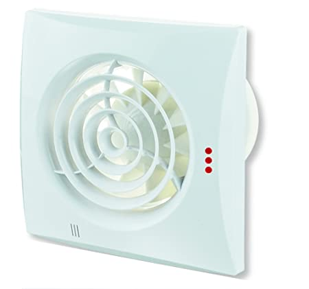 Incroyable WC Bathroom Extractor Fan With Backdraught Shutter (Nonreturn Valve) 4 Inch  / Original Vents