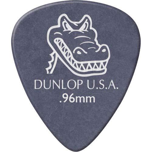 Picks Grip Gator Dunlop - Dunlop Gator Grip Standard Guitar Picks .96 mm 1 Dozen