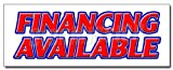 24' FINANCING AVAILABLE DECAL sticker easy credit we finance here pay here