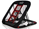 Spornia SPG Golf Chipping Net- Indoor/Outdoor- (2 in 1) Golf Practice - 25in. Collapsible Chipping Target Net Golf Scrub Patch Towel