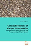 Colloidal Synthesis of Copper Nanoparticles, Nafiseh Dadgostar, 3639193709