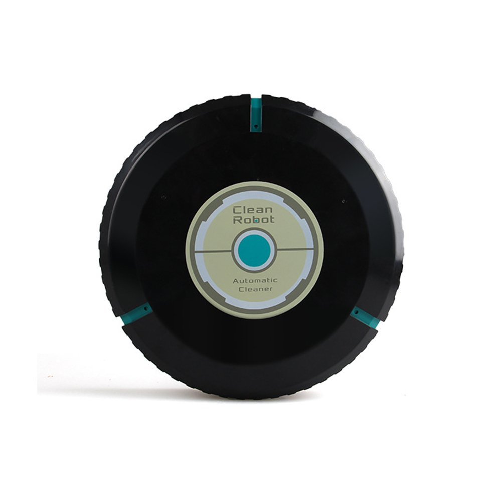 RONSHIN Intelligence Vacuum Cleaner Household Multifunctional Sweeping Robot Toy for Kids Adults Black