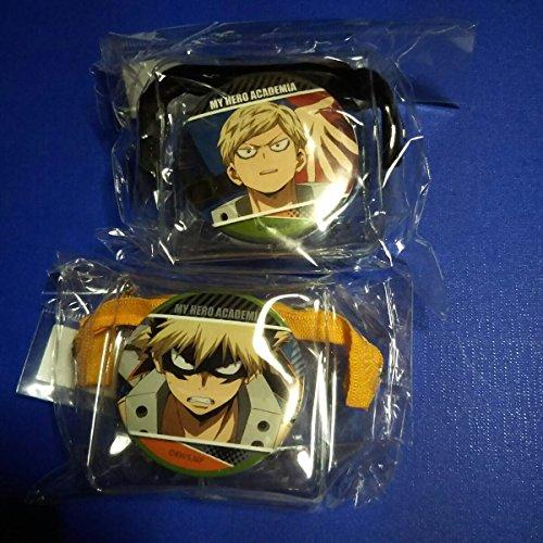 僕のヒーローアカデミア 魅せキューブ ポーチ 缶バッジ 爆豪勝己2種セット ヒロアカ