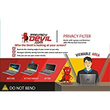 """PrivacyDevil PD156 Screen for Monitors Privacy Filter for 15.6"""" Display"""