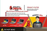 PrivacyDevil Privacy Screen for Monitors Privacy Filter for 18.1'' Display