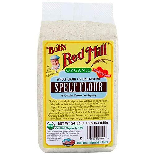 - Bob's Red Mill Organic Spelt Flour - 24 oz