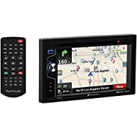 PLANET AUDIO PNV9674 6.2 Double-DIN In-Dash Navigation Touchscreen DVD Receiver with Bluetooth(R)