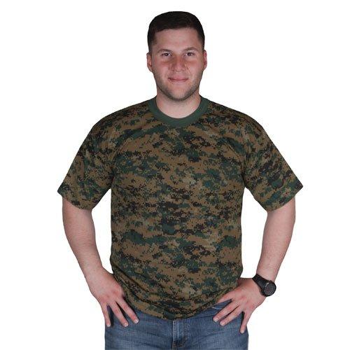 - Fox Outdoor Products Short Sleeve T-Shirt, Digital Woodland, XX-Large