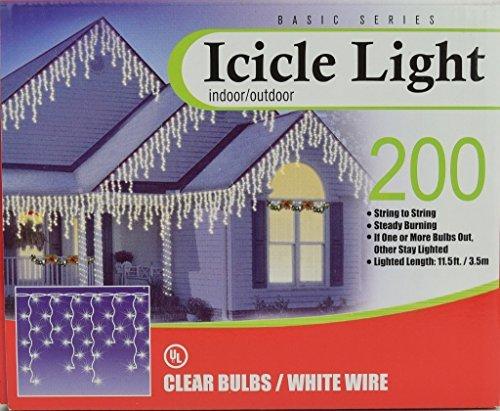 Clear Bulb Icicle - 5