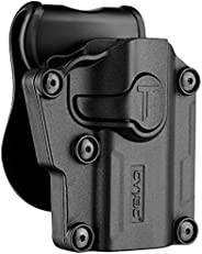 Universal OWB Holster, Tactical Polymer Paddle Holsters for 1911 Beretta Bersa CZ FN Girsan Hi-Point Ruger Sig