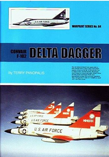 Used, Warpaint Series No.64 Convair F-102 Delta Dagger By for sale  Delivered anywhere in USA