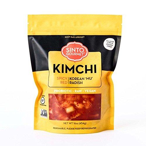 Sinto Gourmet, Kimchi Radish, 16 Ounce