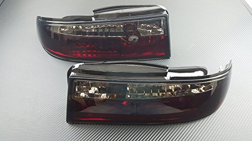 P2M NISSAN 1995-96 S14 240SX 3PCS SMOKED REAR TAIL LIGHT KIT LED P2-NS14RTL02S-JY