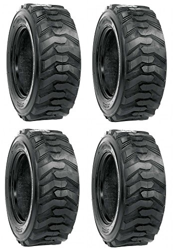 4 New 10x16.5 Skid Steer Tires 10 Ply Bobcat Case John Deere 10-16.5 Rim Guard